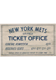 New York Mets Vintage Ticket Office Wall Sign