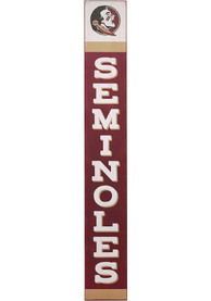 Florida State Seminoles Vertical Wood Wall Sign