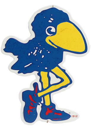 Kansas Jayhawks 1912 Bird Sign