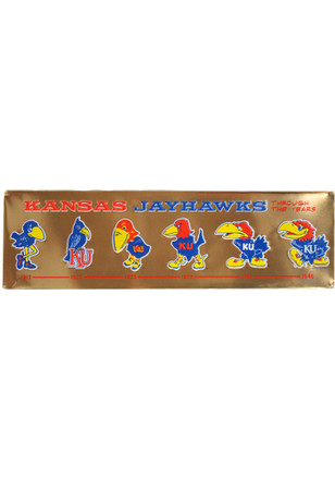 Kansas Jayhawks Jayhawk Evolution Sign