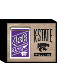 K-State Wildcats Deep Wood Photo Picture Frame