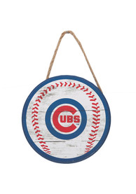Chicago Cubs Hanging Wood Sign