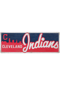 Cleveland Indians Traditons Wood Sign