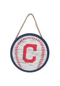 Cleveland Indians Hanging Wood Sign