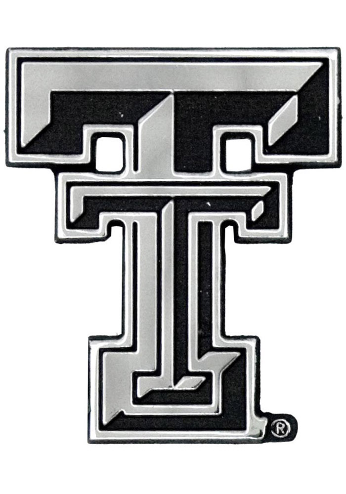 Texas Tech Red Raiders Chrome Car Accessory Car Emblem 1637042