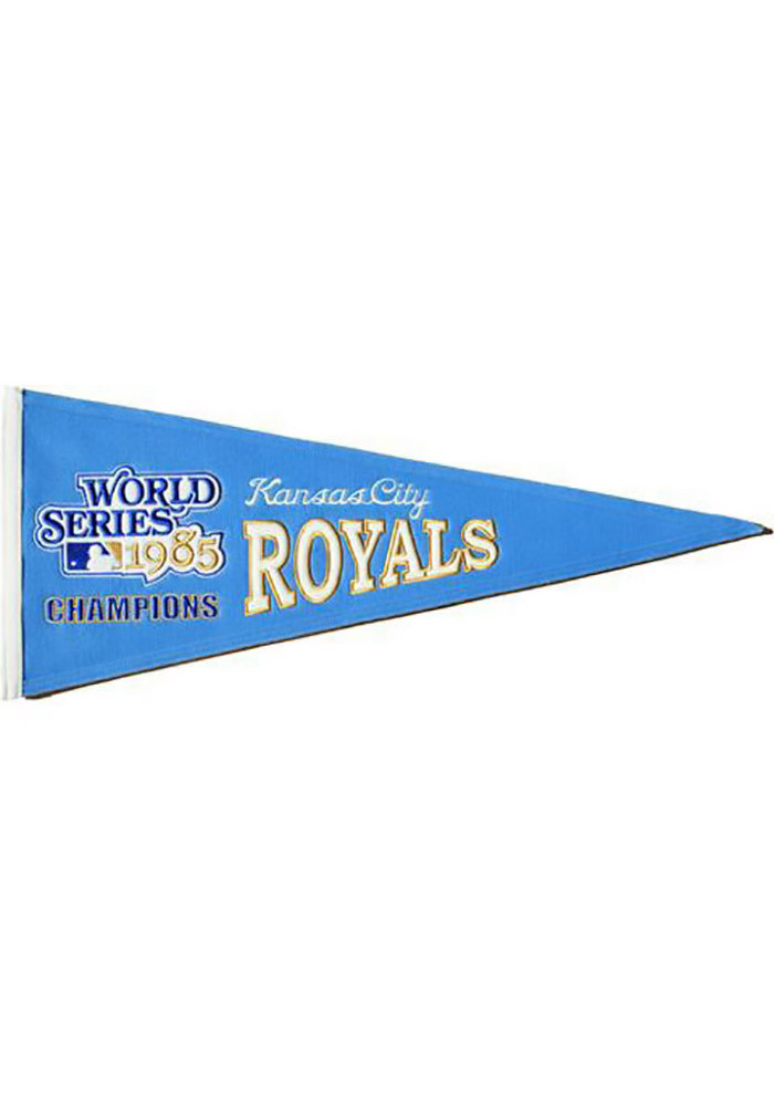 Kansas City Royals 13x32 Cooperstown Pennant - Image 1