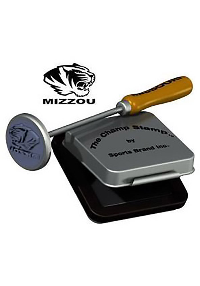 Missouri Tigers Stamp and Pad Notepad - Image 1