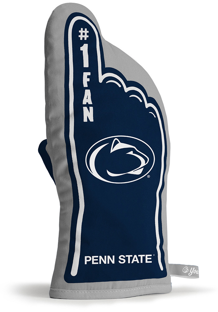 Penn State Nittany Lions #1 Fan BBQ Grill Mitt - Image 2