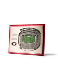 Georgia Bulldogs 5-Layer 3D Stadium View Wall Art