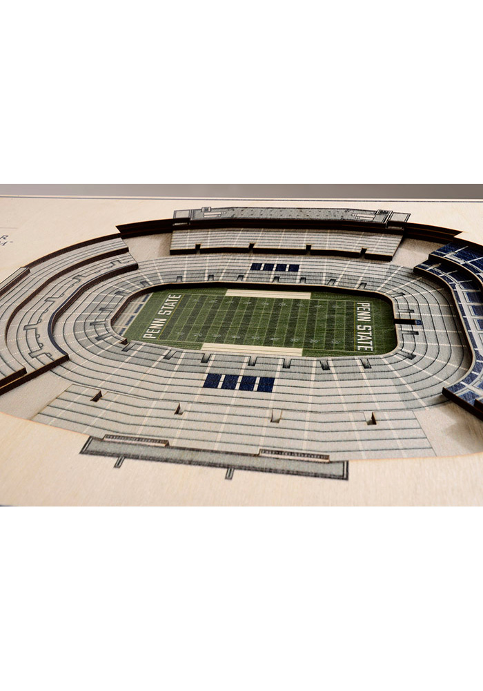 Penn State Nittany Lions 5-Layer 3D Stadium View Wall Art - Image 2