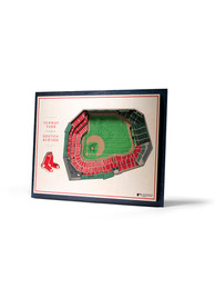 Boston Red Sox 5-Layer 3D Stadium View Wall Art