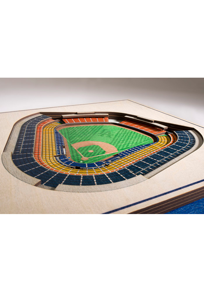 Los Angeles Dodgers 5-Layer 3D Stadium View Wall Art - Image 2