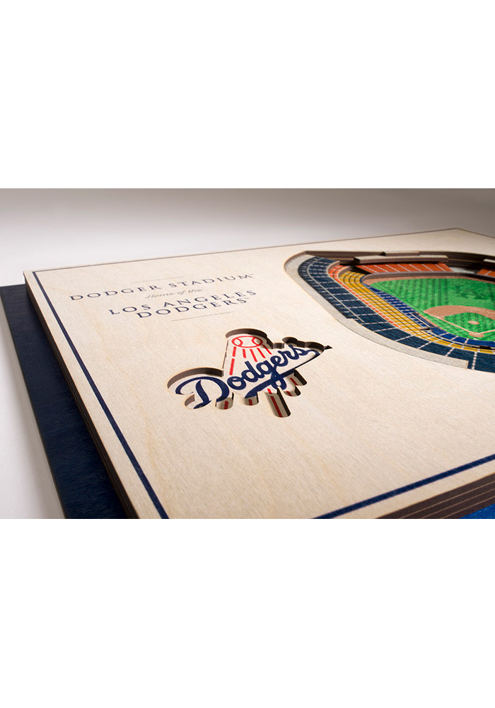 Los Angeles Dodgers 5-Layer 3D Stadium View Wall Art - Image 3