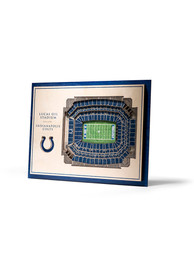 Indianapolis Colts 5-Layer 3D Stadium View Wall Art