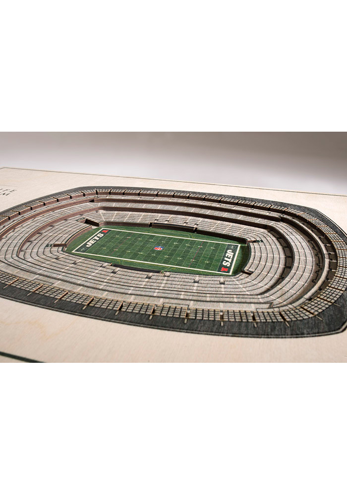 New York Jets 5-Layer 3D Stadium View Wall Art - Image 2