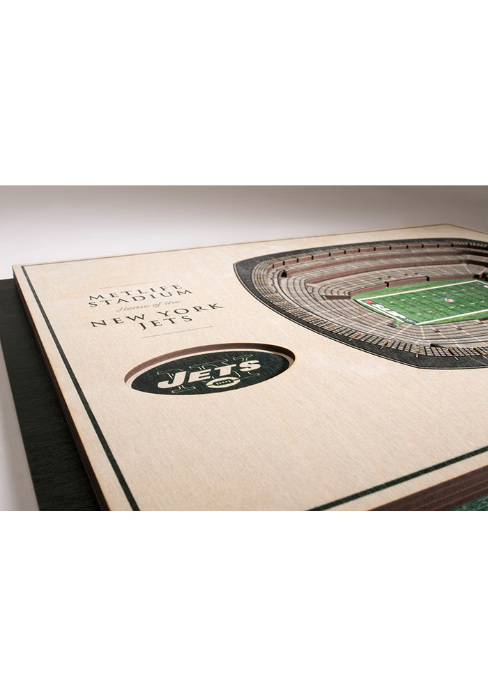 New York Jets 5-Layer 3D Stadium View Wall Art - Image 3