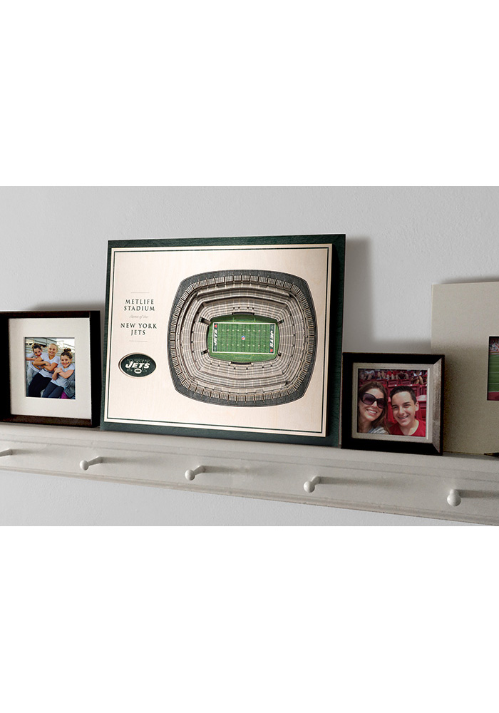 New York Jets 5-Layer 3D Stadium View Wall Art - Image 4
