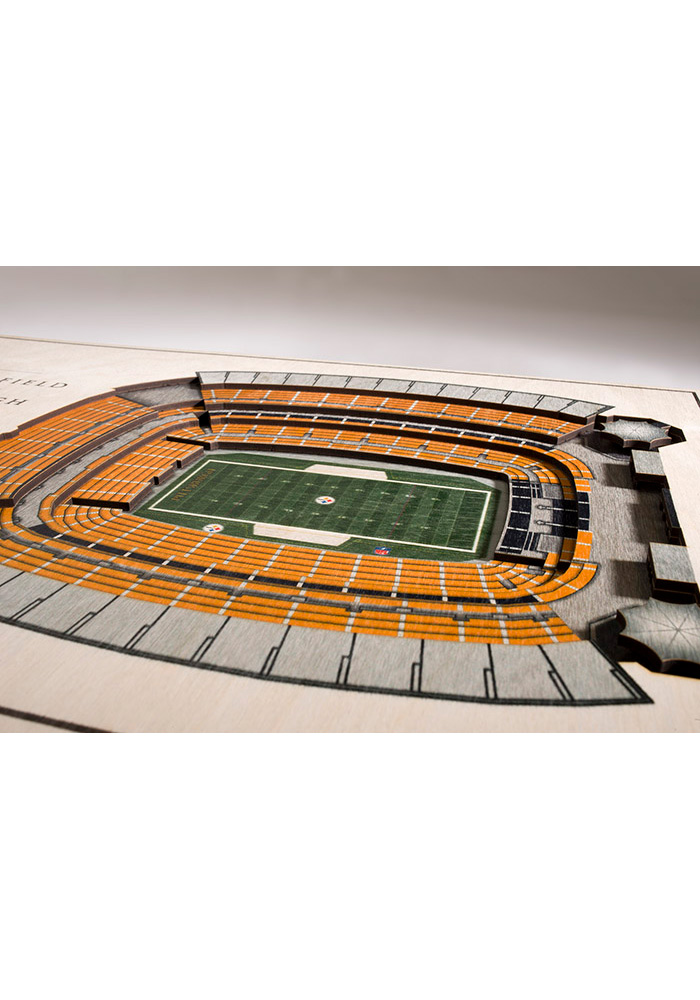 Pittsburgh Steelers 5-Layer 3D Stadium View Wall Art - Image 2