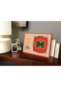 Kansas City Chiefs 3D Desktop Stadium View Red Desk Accessory