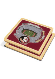 Florida State Seminoles 3D Stadium View Coaster