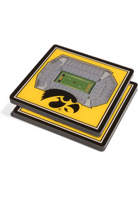Iowa Hawkeyes 3D Stadium View Coaster