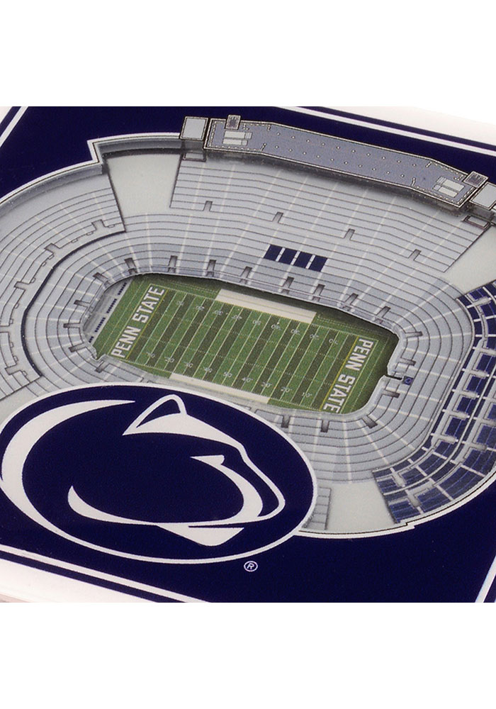 Penn State Nittany Lions 3D Stadium View Coaster - Image 3