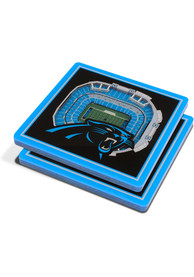 Carolina Panthers 3D Stadium View Coaster