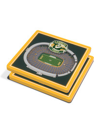 Green Bay Packers 3D Stadium View Coaster