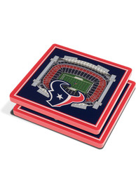 Houston Texans 3D Stadium View Coaster