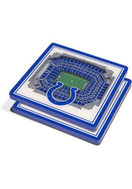 Indianapolis Colts 3D Stadium View Coaster