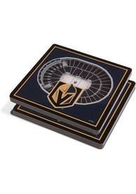 Vegas Golden Knights 3D Stadium View Coaster