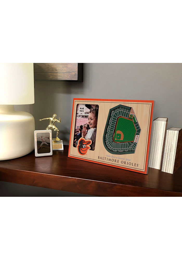 Baltimore Orioles Stadium View 4x6 Picture Frame - Image 1