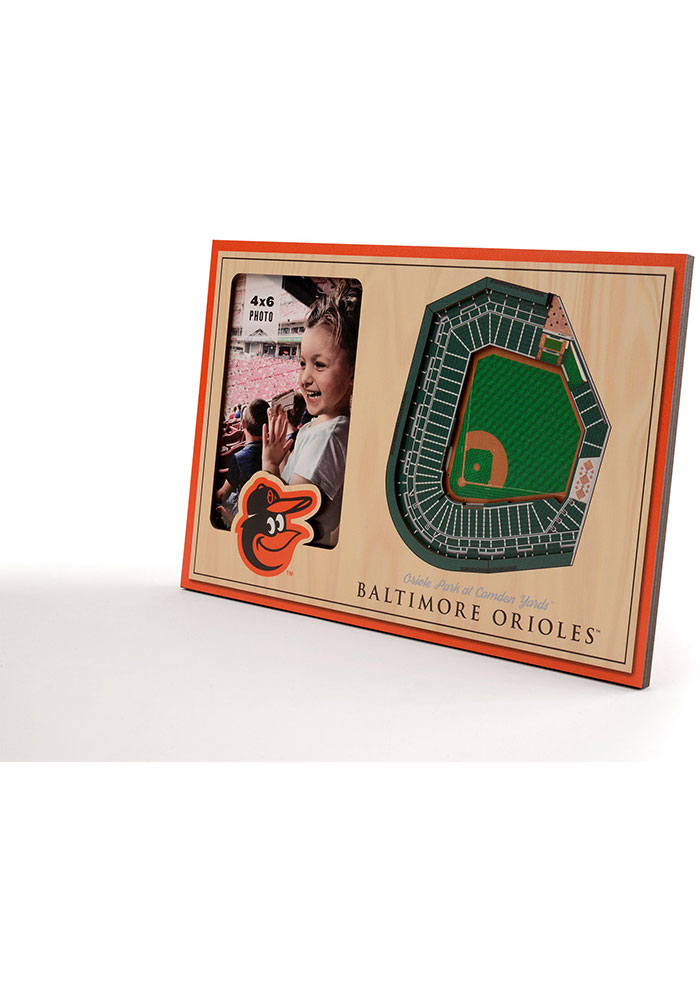 Baltimore Orioles Stadium View 4x6 Picture Frame - Image 2
