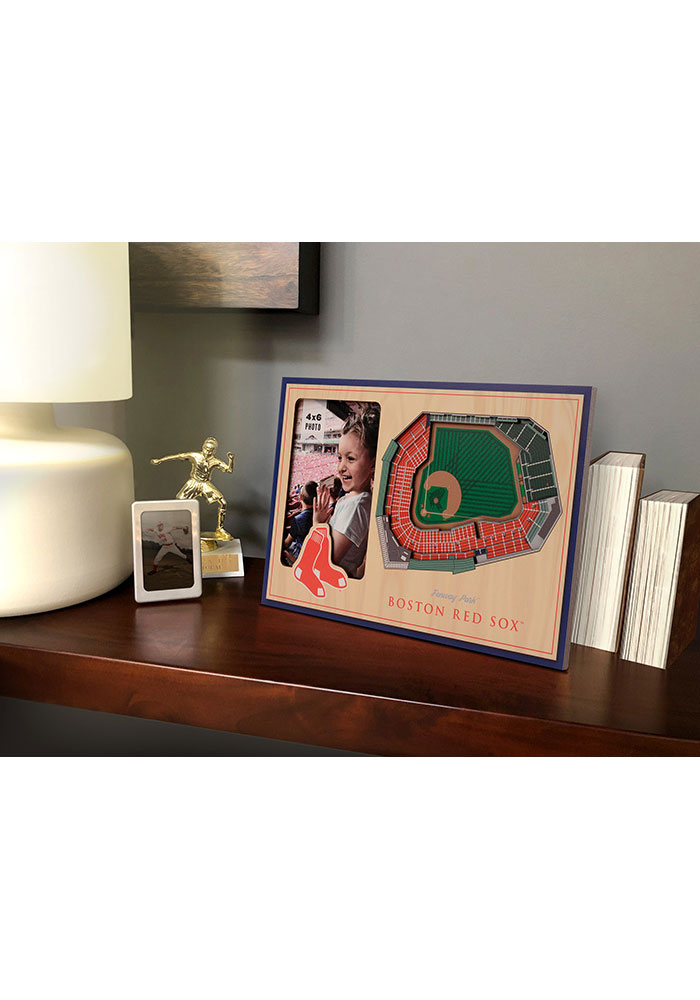 Boston Red Sox Stadium View 4x6 Picture Frame - Image 1