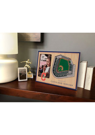 Cleveland Indians Stadium View 4x6 Picture Frame
