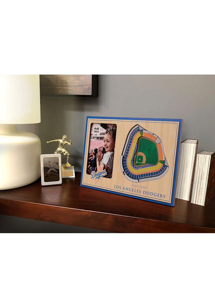 Los Angeles Dodgers Stadium View 4x6 Picture Frame - Image 1