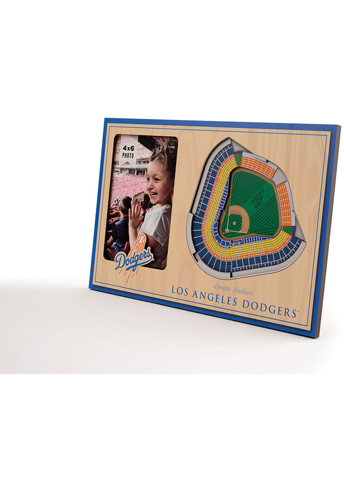 Los Angeles Dodgers Stadium View 4x6 Picture Frame - Image 2