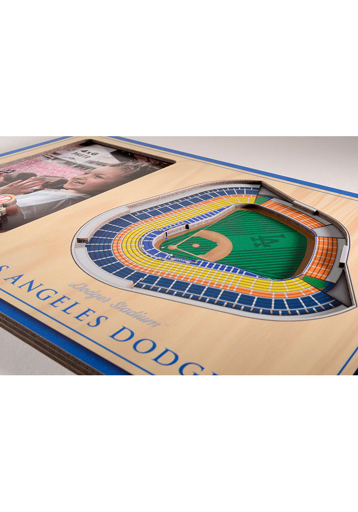 Los Angeles Dodgers Stadium View 4x6 Picture Frame - Image 3