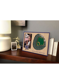 Milwaukee Brewers Stadium View 4x6 Picture Frame