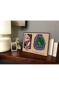 Pittsburgh Pirates Stadium View 4x6 Picture Frame