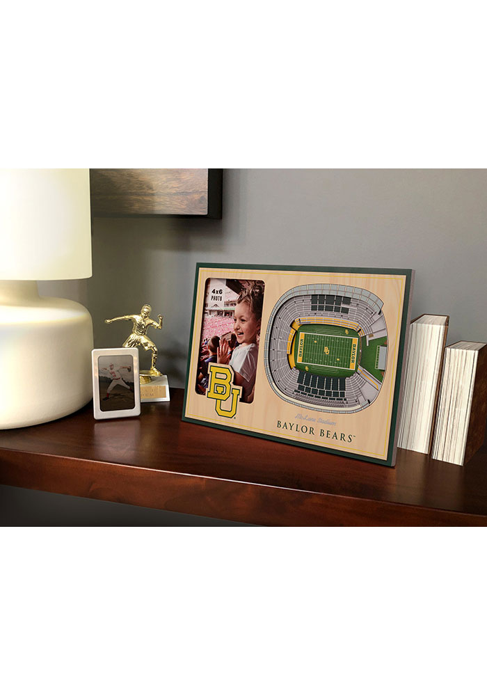 Baylor Bears Stadium View 4x6 Picture Frame - Image 1