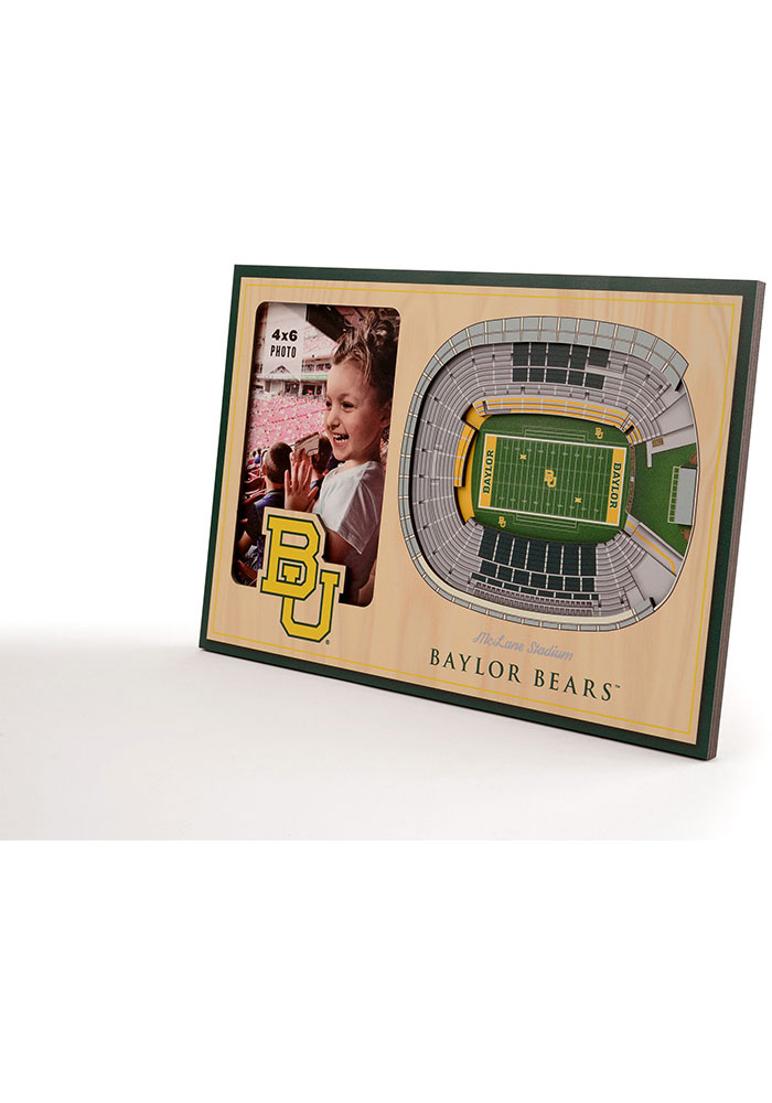 Baylor Bears Stadium View 4x6 Picture Frame - Image 2