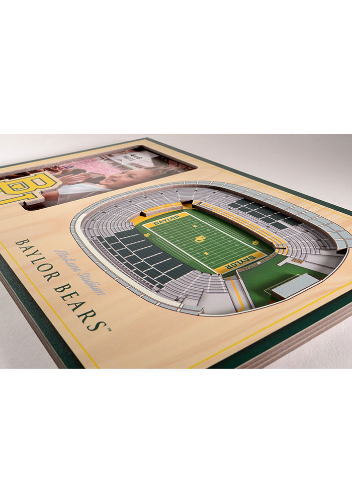 Baylor Bears Stadium View 4x6 Picture Frame - Image 3