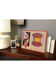 Indiana Hoosiers Stadium View 4x6 Picture Frame
