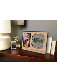 West Virginia Mountaineers Stadium View 4x6 Picture Frame