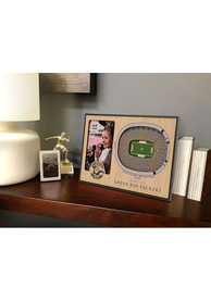 Green Bay Packers Stadium View 4x6 Picture Frame