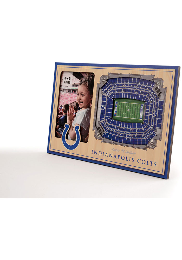 Indianapolis Colts Stadium View 4x6 Picture Frame - Image 2