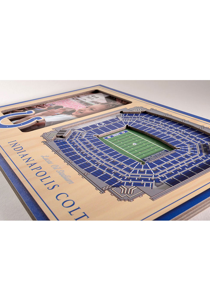 Indianapolis Colts Stadium View 4x6 Picture Frame - Image 3