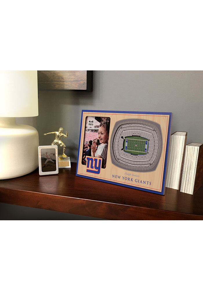 New York Giants Stadium View 4x6 Picture Frame - Image 1
