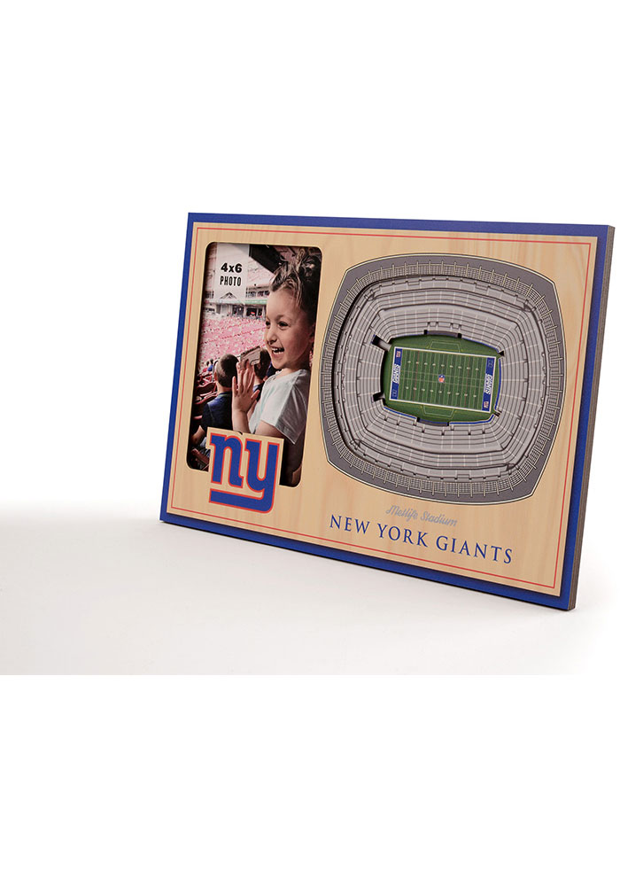 New York Giants Stadium View 4x6 Picture Frame - Image 2